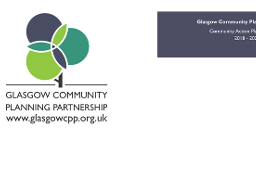 Glasgow Community Action Plan - Front Page